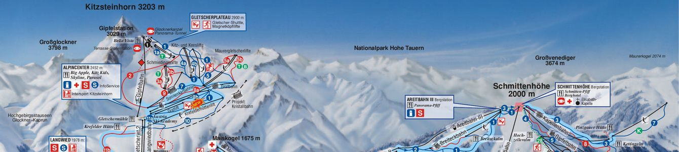 Peaks above Kaprun