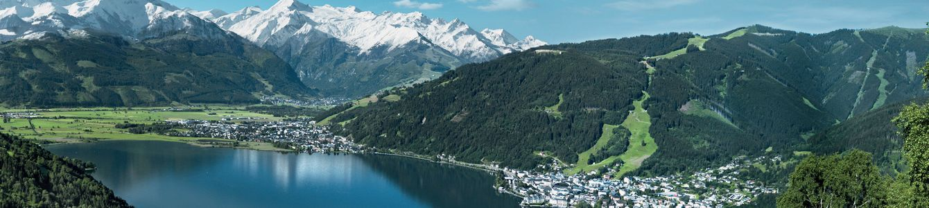 Zell Am See in the summer